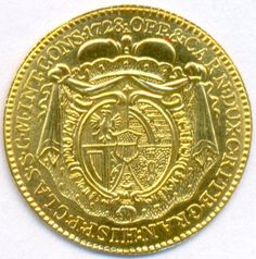 Gold Ducat from Liechtenstein