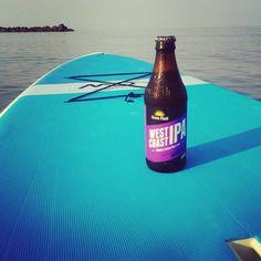 """West Coast IPA...meet East Coast Chesapeake Bay! #greenflashbeer #craftbeergirl #saltlife #ipa #sup #beer"" - Thanks for the warm welcome and great photo, @rlmac21! #craftbeer"