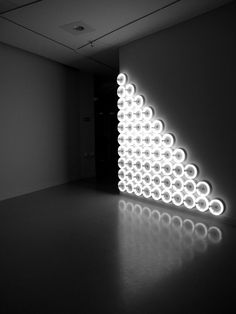 Dan Flavin - untitled (to a man, George McGovern) 1972.