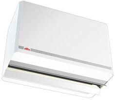Głównym zastosowaniem kurtyny AC 500 jest oddzielenie stref powietrza o różnych temperaturach, zapobiega ona stratom powietrza wewnętrznego.