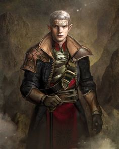 Elf Inquisitor by GerryArthur armor clothes clothing fashion player character npc | Create your own roleplaying game material w/ RPG Bard: www.rpgbard.com | Writing inspiration for Dungeons and Dragons DND D&D Pathfinder PFRPG Warhammer 40k Star Wars Shadowrun Call of Cthulhu Lord of the Rings LoTR + d20 fantasy science fiction scifi horror design | Not Trusty Sword art: click artwork for source: