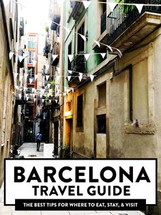 A local food blogger's tips for where to eat, stay and visit in Barcelona, Spain! Detailed restaurant recommendations included for breakfast, lunch, dinner and drinks. Plus travel tips on how to navigate the city like a local. | gimmesomeoven.com