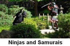 Ninjas and Samurais    http://whatisthewik.com/difference_between/ninjas-and-samurai/