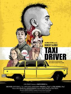 Taxi Driver - movie poster - Cristiano Siqueira