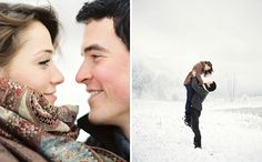 15 Ideas for Oh-So-Cozy Winter Engagement Photos #bridal