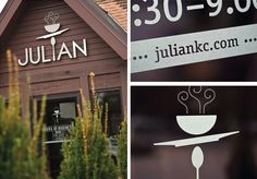 Julian Restaurant by Nathaniel Cooper, at the Brookside Plaza here in KCMO