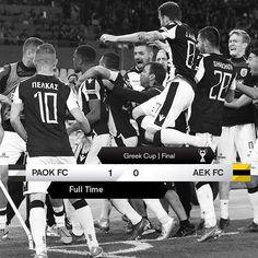 #PAOKAEK 1-0 #GreekCup #Final2019 #CupWinners Fc 1, K Cups, Scores, Finals, Greek, Challenges, Instagram, Final Exams, Greece
