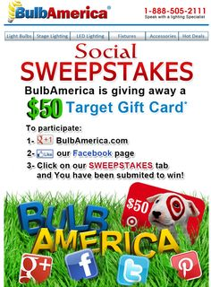Join our sweepstakes before time runs out!