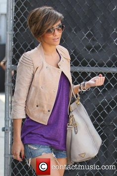 Frankie Sandford, of The Saturdays return to their hotel from... | Frankie Sandford Picture 3284002 | Contactmusic.com
