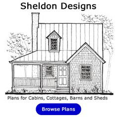 Shows Gambrel roof building and multiple size structures with pdfs