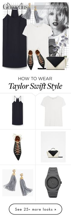 """""""Summer 2016"""" by lyusilgrig on Polyvore featuring MANGO, CC, R13, Malone Souliers and J.Crew"""