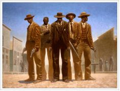 By Kadir Nelson.there were and are black cowboys African American Artist, African American History, African Art, American Indians, Black Panthers, Game Design, Kadir Nelson, Westerns, Black Art Pictures
