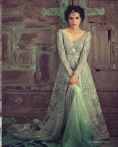 new Pakistani bridal dress 2015