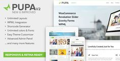 Deals Pupa - Responsive & Retina Multi-Purpose Themein each seller & make purchase online for cheap. Choose the best price and best promotion as you thing Secure Checkout you can trust Buy best