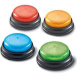 Lights & Sound Buzzers: Finding a manipulative suitable for severely disabled students is a challenge. Lights & Sound Buzzers meet the challenge for many, delighting and re-enforcing cause and effect.