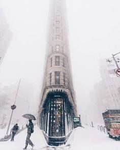 The Historic Flatiron Building in New York City, New York USA / by Jeff Silberman