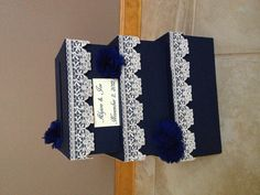 Wedding card box. Made by Jenelle O.