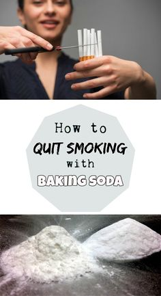 Learn how to quit smoking with baking soda.