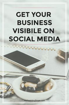 Tips for growing your business' reach on social media. Be seen by your dream clients and how to get visibility quickly. Business Marketing, Content Marketing, Internet Marketing, Online Marketing, Social Media Marketing, Online Business, Digital Marketing, Business School, Social Business
