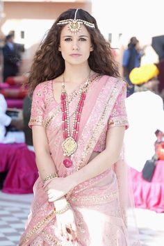 Lucie Lucas sur TF1 (1986) à Jaipur