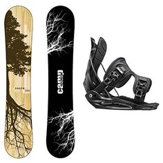 3f62eb81d9a Cheap Package-Camp Seven Roots CRC Snowboard-153 cm-Flow Alpha MTN Snowboard