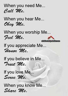 My lovely GOD...