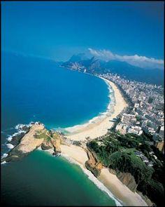 Ipanema & Leblon, Rio, Brasil- I want to travel and immerse myself in all the magic this place has to offer.