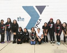 Rutgers Phi Sigma Rho at the YMCA on the Scarlet Day of Service