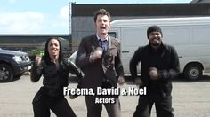 Ok I found out that it gets better.  Hahaha Doctor Who - Entire Cast & Crew 500 Miles Special