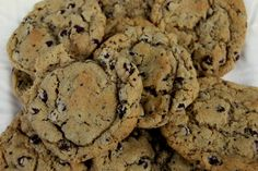 Chia Seed Chocolate Chip Cookies with Flax...Bring on healthy cookies!