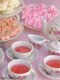 This website has tons of recipes for a tea party! Theyre absolutely adorable, but it depends on how much work we want to do 🙂 This website has tons of reci Girls Tea Party, Princess Tea Party, Tea Party Birthday, Tea Party For Kids, Party Queen, Cucumber Sandwiches, Afternoon Tea Parties, High Tea Parties, Sprinkles