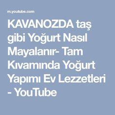 KAVANOZDA taş gibi Yoğurt Nasıl Mayalanır- Tam Kıvamında Yoğurt Yapımı Ev Lezzetleri - YouTube