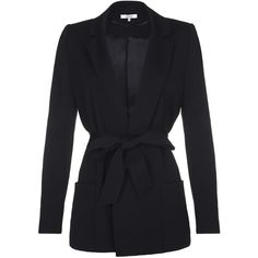 Mint Velvet Deconstructed Blazer, Black (£59) ❤ liked on Polyvore ...