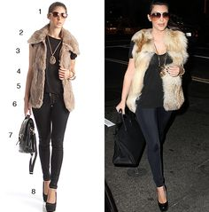 Get Kim Kardashian's Style for a Fraction of the Cost!