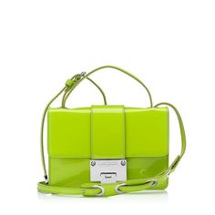 The Jimmy Choo Rebel in Lime Patent
