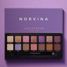 Everything We Know About Anastasia Beverly Hills' New Norvina Eye Shadow Palette #beautyproducts #makeuppalette #ABH #eyeshadow #eyemakeup
