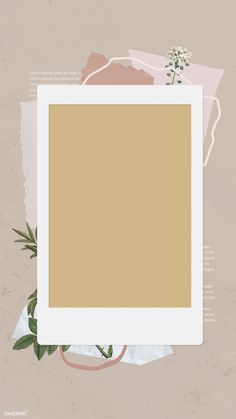 Download premium vector of Blank collage photo frame templat