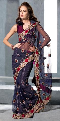 have sheer black sari. Need to make choli & skirt