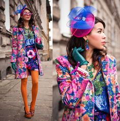 FLORAL TOTAL LOOK (by Tamara Gonzalez Perea) http://lookbook.nu/look/4598097-FLORAL-TOTAL-LOOK