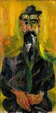 L'Homme au Chapeau, 1936, Chaim Soutine