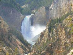 Yellowstone National Park in Wyoming, Idaho, and Montana