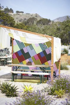 The outdoor space at UO Malbu.