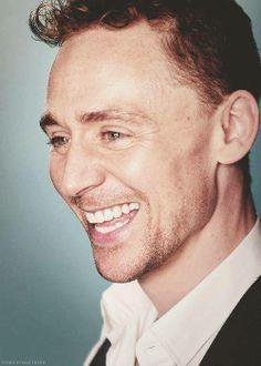Tom Hiddleston - I can hear the ehehehe.