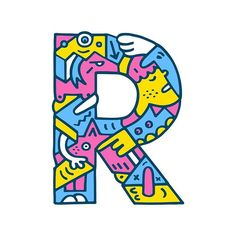 'R' you ready? Sorry, I'll come up with something better for the next one. #r #typography #lettering #series #26 #alphabet @thedailytype