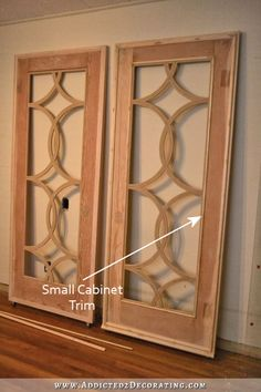 Kitchen Cabinet Door Images before & after: robert's condo kitchen | doors, condo kitchen and