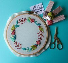 Customizable Floral Wreath