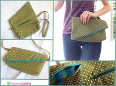 Learn how to make a free bag pattern that you will want to keep by your side forever and ever. This easy purse pattern is designed especially for women who want to carry a bag that is cute, compact, and efficient at the same time.