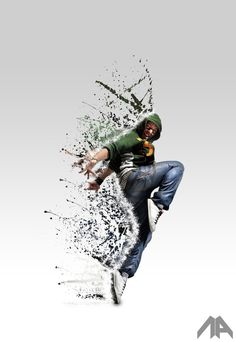 The Disintegration Effect on the Behance Network