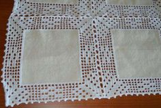 Resultado de imagem para toalhas de renda e linho