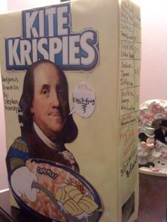 cereal box book report titles Cereal box biography book report  top of the box: include the title, author, number of pages, and number of stars you would give your biography if you were a book.